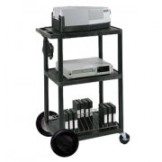 Open Shelf Tuffy Cart - with Electric & 8in Wheels (42