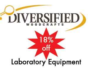 Hertz Furniture Offers Schools 18% off Diversified Woodcrafts Science Laboratory Equipment
