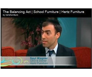 Hertz Furniture President Appears On Popular Lifetime TV Program