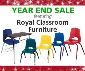 Royal Classroom Furniture Featured in Year-End Hertz Furniture Sale