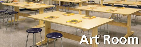 Get all of the art room furniture you need at affordable prices from Hertz Furniture.