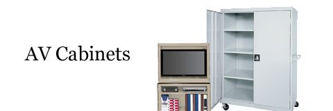 AV cabinets for all of your equipment in a selection of sizes and styles. Buy now!