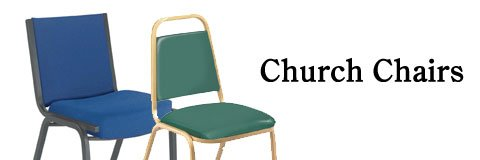 Comfy church chairs let worshippers focus on the things that really matter.