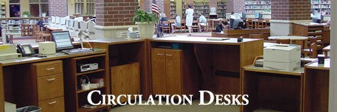 A functional circulation desk makes a big difference when it comes to running a library.