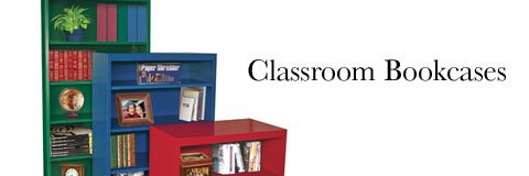 Classroom bookcases get little ones excited about reading and encourage independent exploration.