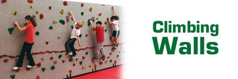 When it comes to PE and recess activities, rock climbing walls are sure to be a favorite.