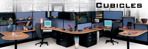 With office cubicles you can create any work space configuration you want.