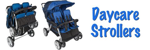 Outings are a pleasure when you have smooth-rolling tandem strollers for your daycare.