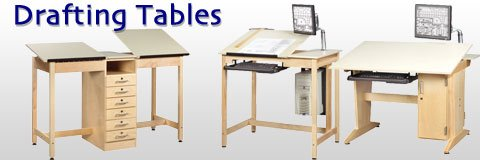 Make all your sketches the best they can be with top-notch drafting tables.