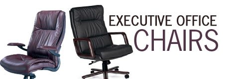 Nothing says experience and professionalism like an imposing executive office chair.