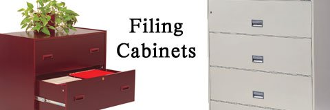 File cabinets provide a protected, organized space for all of your documents.