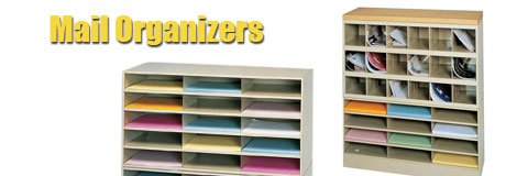 Literature organizers are perfect for interoffice mail or teacher boxes.
