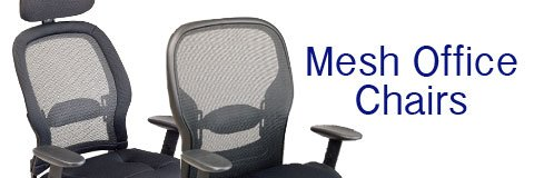 When it comes to breathability and and ergonomics, mesh office chairs are unbeatable.