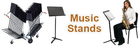 Shop great music stands for the musicians in your band, ensemble or orchestra.