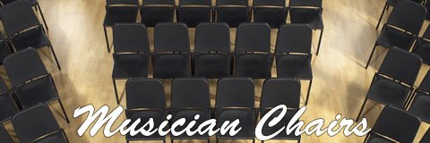 Successful practices and performances begin with supportive musician chairs.