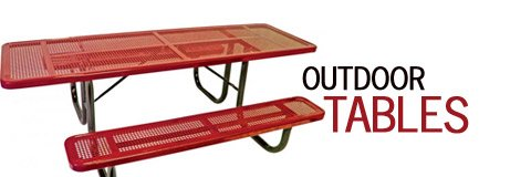 When the weather is nice there is nothing like sitting at a great outdoor table and enjoying some fresh air.