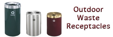 Outdoor Waste Receptacles