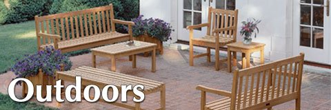 Reinvent your courtyard or playground with our selection of outdoor furniture and park equipment.