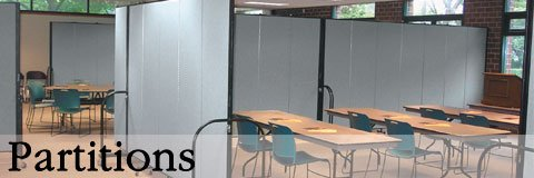 Without a major construction project, wall partitions create new spaces for your school, business or house of worship.