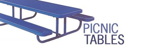 Enjoy a break in the great outdoors with cozy picnic benches.