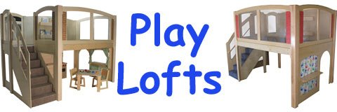Add a playloft to your classroom to increase activity areas and create a fun new space.