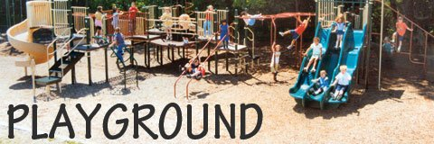 Commercial playground equipment gets kids climbing, sliding and developing important gross motor skills.