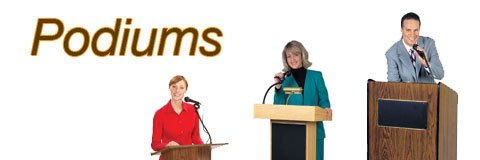 Buy a podium for your school, business or religious institution! Great lecterns in a selection of styles.