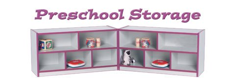Proper preschool storage keeps your classroom organized and ready for any activity.