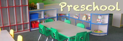 A positive early-childhood learning experience begins with safe and colorful preschool furniture.