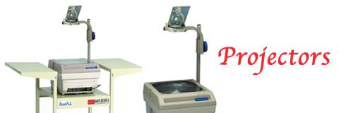 Overhead projectors are a great tool for classroom lessons, training sessions and seminars.