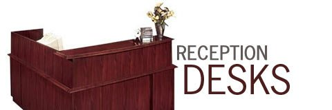 Make the right first impression with a classy reception desk from Hertz Furniture.