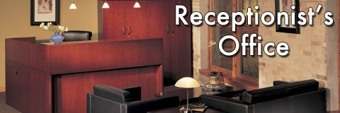 Browse our receptionist office furniture from desks and chairs to file cabinets and beyond.