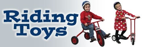 Get those little ones on a roll with a toddler or kids tricycle from Hertz Furniture.