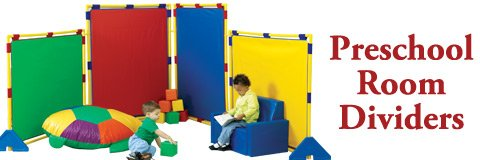 Preschool room dividers are perfect for early-childhood classroom centers.