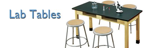 Shop lab tables now and enjoy a huge selection of sizes and surface materials.