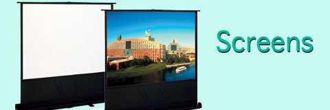 Get a clear picture every time with our selection of high-quality projector screens.