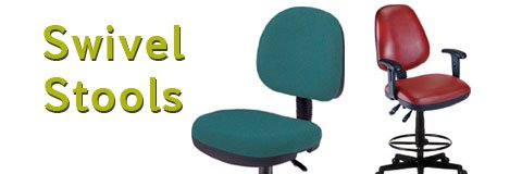 Padded drafting stools are ideal for art and architecture applications.