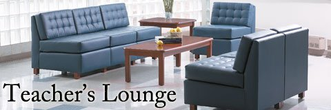 With proper teacher's lounge furniture educators can prepare for class or take a break in style.
