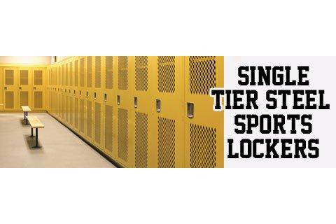 Penco Invincible II Single-Tier Steel Sports Lockers