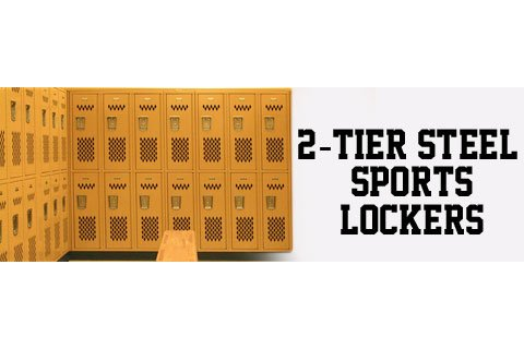 Penco Invincible II 2-Tier Steel Sports Lockers