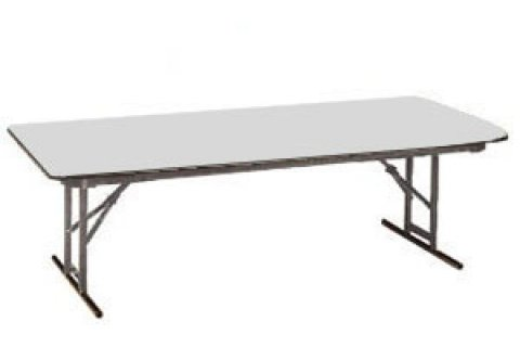 High Pressure Laminate Folding Tables-Rigidity Brace by Allied