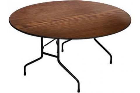 High Pressure Round Folding Tables by Correll