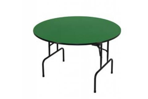Educational Color Top Round Folding Tables by Allied