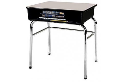 1100 Fixed Height Open Front School Desks