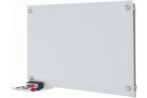 Pure Glass Dry-Erase Boards by Aarco