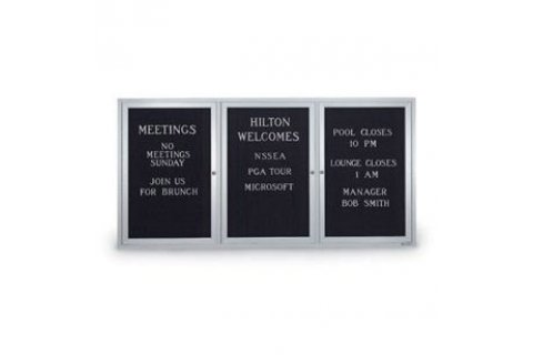 Weather-resistant Enclosed Letter Boards