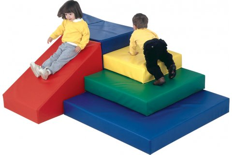 Foam Play Toddler Pyramid Play Center
