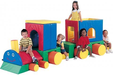 Foam Play Train
