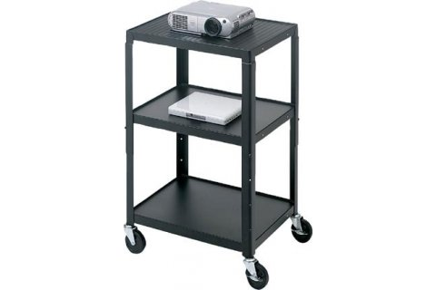 Adjustable Height AV Carts