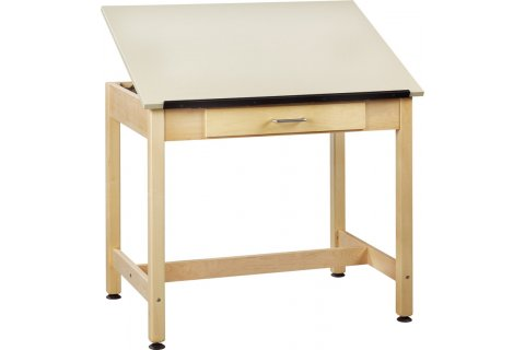 Art Room Drawing Tables 1-Piece Top
